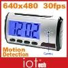 Remote Control Clock Camera 4GB 640x480 AVI