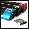 FM Radio & Portable speakers for SD,Udisk,MP3,PSP, Color:Blue