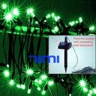 Solar Powered 60 Green LED Christmas Fairy String Light