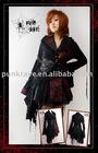 PUNK RAVE Gothic Kimono Dress q-093
