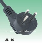 Isreal 3 pin 220V power plug with power cable