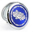 2013 attractive round metal comestic mirror for souvenir girls
