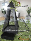 Pyramid Log Burner chimeneas