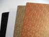 PVC wood grain decorative sheet(Mono color with embossed texture 25series)