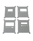 Three phase static nameplate DTSF-034