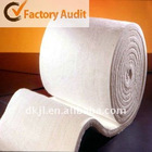 MSDS Ceramic Fiber Blanket as lining of industrial furnace