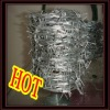 Electro and hot-dipped galvanized barbed wire