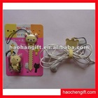 Fashion animal silicone bobbin winder for iphone