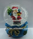Christmas Snow Globe, Santa Claus Snow Dome