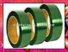 Green PET packing plastic strapping