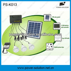 4W mini solar home lighting kit with 3 LED lights