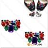 Fashion Shoe Decoration Rhinestone Design
