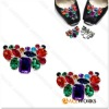 Fashion Shoe Decoration Rhinestone Design
