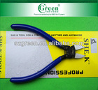 SHE.K SK-22A electronic crimping pliers / flat nose cutting pliers with blue plastic handles