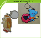 HOT sell soft pvc key chain