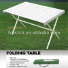 Outdoor Aluminium Folding table Portable folding table folding picnic table folding table