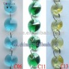 Crystal Beads Chains with Octagon beads for wedding decoration