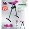 compact,steel frame,3 Minute Leg trainer as seen on TV(HY-0030)
