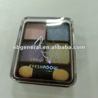 4 color eye shadow powder