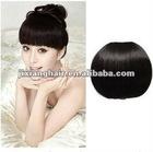 hair fringe/human hair bang /remy hair