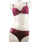 Miduo new arrival lace plus size bra&brief sets