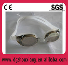 Three-piece anti-fog/UV protected swimming goggles