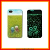 Fashion Outlook Caricature Starry Night Painted Back Cover Case for iPhone 4(HA02)