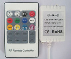 RF 20Key led rgb controller,max 2A*3 channel output with DC12-24V input