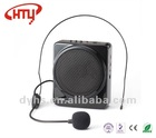Teacher, Guide Portable Voice Amplifier Megaphone HTY-G588 black