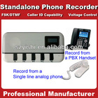 1CH, 2CH, 8CH, 16CH Standalone Voice Logger DAR-1001 with SD card works PBX