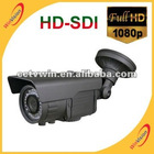 1080p camer hd-sdi security camera with OSD, WDR, Sens-up, 3D DNR, ICR, Digital Zoom, Motion Detection and 30m infrared distance