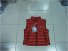 Wholesale & Retail Boys Red Stand Collar Goose Down Vest