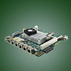 Network firewall motherboard with 6 RJ45
