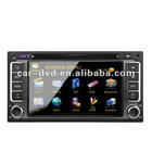 TOYOTA old corolla 6.2 inch touch screen car navigation gps tracker dvd music player with Digital TV