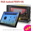 android car dvd with WIFI and 3G,