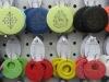 2012 colorful wood beads hoop earrings