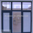 Kaho Latest hollow shutter glass for doors