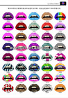 hot lip tattoo sticker