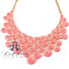Hot sale bubble bib necklace