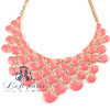 Hot sale bubble bib necklace