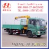 Dongfeng 4*2 Crane lorry,lorry crane truck