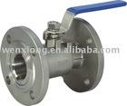 stainless steel ball valve ( flange valve,ball valve)