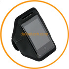 Black Running Sports Gym Armband for iPhone 5; Arm holster workout holder mesh from dailyetech