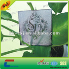 marvelous embossed silver metal card