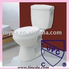 Laguna Dual Flush 0.8gpf / 1.6 gpf Close-Coupled Toilet