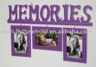 PF1071 Memories cute design wooden photo frame