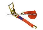 EU type Cargo lashing belt 25mm ratchet tie down