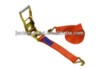 EU type Cargo lashing belt 25mm ratchet tie down