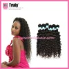 """100% Brazilian remy virgin human hair weaving, Deep curl, natural color 16""""-30"""" available"""