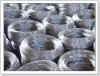 Hot-dip galvanized iron wire
